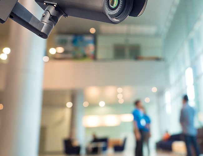 Consider security camera installation
