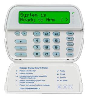 DSC LCD Alarm system