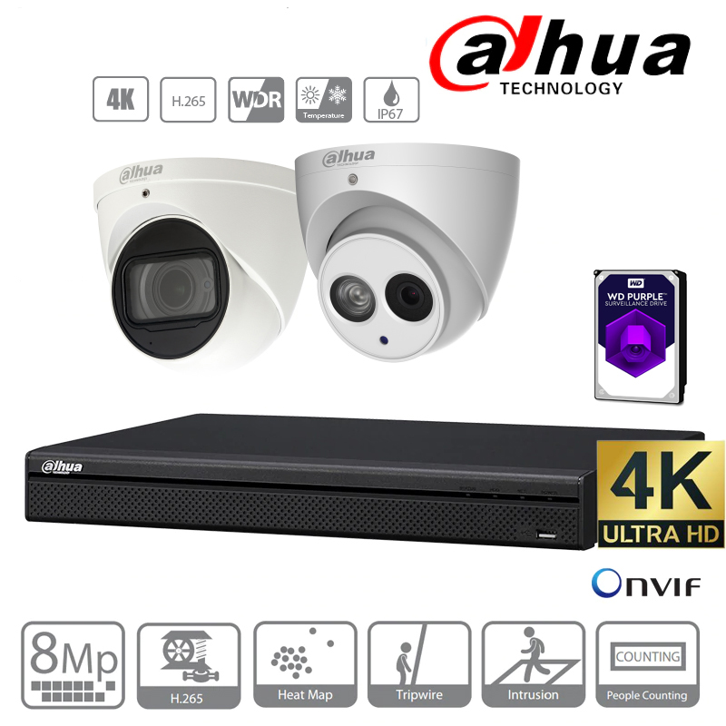 Dahua 4k camera kit
