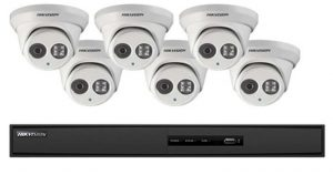 6 Cameras with 6 channels promotion package