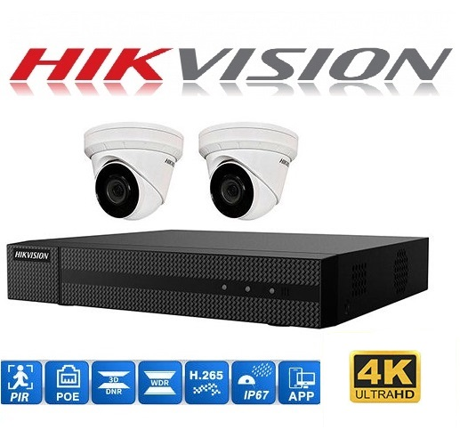 Hikvision 4Ch 2CAa 1TB P1250