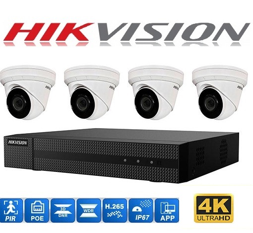 Hikvision 4Ch 4CAA 1TB P1500