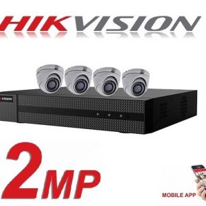 Hikvision 4ch Dvr with 1Tb HDD