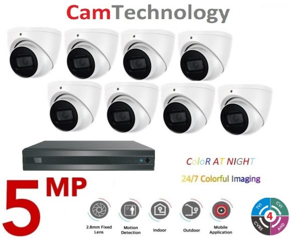 5MP 8 channel Camtechnology